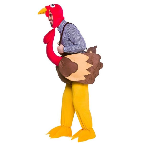 Adults Adult Turkey Costume Unisex Fancy Dress